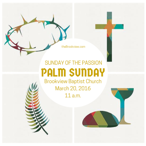 Palm Sunday Flyer 2016